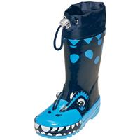 Playshoes Rubber Boots Dino Blue