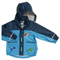 Playshoes Raincoat Dino, size selectable