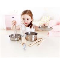 Hape cooking set fits chefs