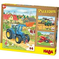 Haba Puzzles Tractor & Co.