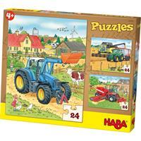 Haba Puzzles Traktor & Co.