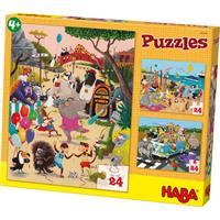 Haba Puzzles Verrückte Tiere