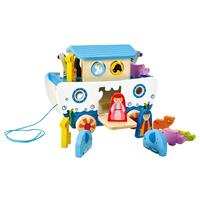 Hape Pull Along Toy Noah's Ark