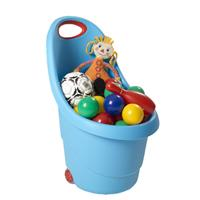 Keter Kiddies Go Trolley blau