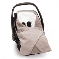 Baby Boum Biside Bamboo Footmuff fits Infant Car seat dove