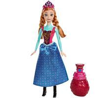 Mattel Disney Princess - Die Eiskönigin - Farbwechselzauber Anna