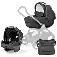 Peg Perego SET XL incl. Babywanne Navetta XL, Babyschale, Wickeltasche Denim Black