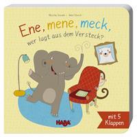 Haba Klappenbuch: Ene, mene, meck, wer lugt aus dem Versteck?