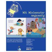 Haba Pappbilderbuch Minimonster: Im Dunkeln sind w Detailansicht 01