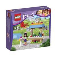 Lego Friends Emmas Kiosk Detailansicht 01
