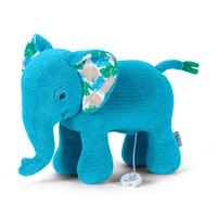Sterntaler Spieluhr L Elefant azur