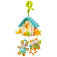 BabyFehn Sleeping Forest Mini-Musik-Mobile Haus