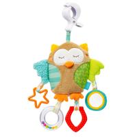 BabyFehn Sleeping Forest Activity-Eule mit Klemme