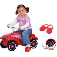 BIG Bobby Car Classic mit Flüsterrädern und Schuhschutz