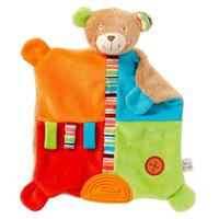 Baby Fehn Activity-Cuddle Cloth Teddy