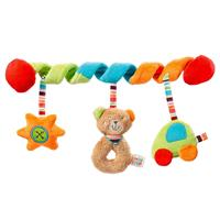 Baby Fehn Activity-Spiral Teddy