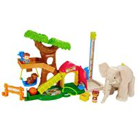 Fisher-Price Little People Maxi-Tierwelt Zoo