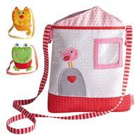Haba Kinder-Tasche Haus, Frosch oder Katze wählbar