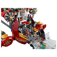 Lego Ninjago Ronin R E X Detail 05