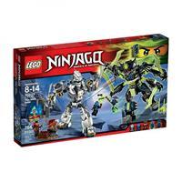 Lego Ninjago Titanroboter gegen Mechenstein Detailansicht 01