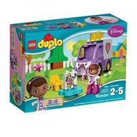 Lego Duplo Doc Mc Stuffins Rosie der Krankenwage Detailansicht 01