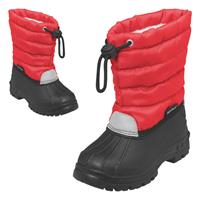 Playshoes Winter-Bootie Winterstiefel mit Warmfutter Rot Gr. 28/29