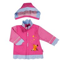 Playshoes Raincoat Mouse Floral, size selectable