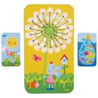 Haba Threading Game Dandelion, Sunshine or Catching Fish selectable