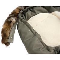 Odenwälder Fusssack PARKA Kollektion 2016 khaki Detaillierte Ansicht 02