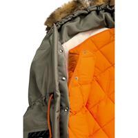 Odenwälder Fusssack PARKA Kollektion 2016 khaki Ausschnitt 04