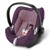 Cybex Aton Q Plus Babyschale Platinum Line Princess Pink - purple