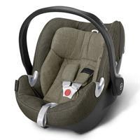 Cybex Aton Q Plus Babyschale Platinum Line Olive Khaki - khaki