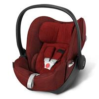 Cybex Cloud Q Plus Babyschale Platinum Line 2016 Mars Red - red