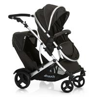 Hauck Duett 2 Tandem Buggy Siblings Stroller incl. carrycot