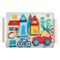 Haba Holzpuzzle Stadt & Dorf