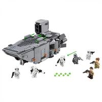 Lego Star Wars First Order Transporter 75103 Detailansicht 01