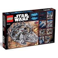 Lego Star Wars Millennium Falcon 75105 Detailansicht 01