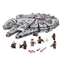 Lego Star Wars Millennium Falcon 75105 Detaillierte Ansicht 02