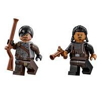 Lego Star Wars Millennium Falcon 75105 Detailierte Ansicht 08