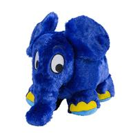 Greenlife Value Warmies warming toy with lavender-grain-filling, blue elephant