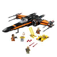 Lego Star Wars Poe's X Wing Fighter 75102 Detailansicht 01
