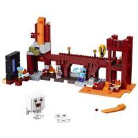 Lego Minecraft Die Netherfestung Detaillierte Ansicht 02