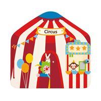 Hape Magnetisches Zirkusbuch Detailansicht 01