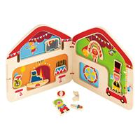 Hape Big Top Circus Magnetic Book