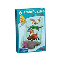 6 Little Hand Puzzles - Animal Upon Animal