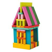 Legler Wooden Construction Bricks 75 pcs.