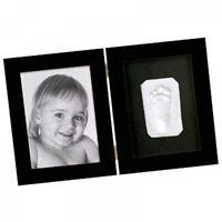 BabyArt Print  Photo frame with foot or hand print