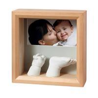 BabyArt Foto Skulptur Holzrahmen zum selber Gestalten