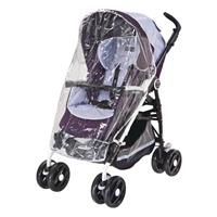 Peg Perego Regenschutz für Book (Plus), Pliko P3, Pliko Mini, Si, Switch, GT3 Black