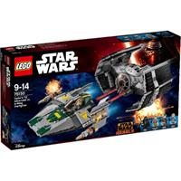 LEGO Star Wars 75150 Vader's TIE Advanced vs. A-W